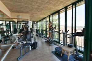 The fitness center and/or fitness facilities at Hotel Del Buono Wellness & Spa