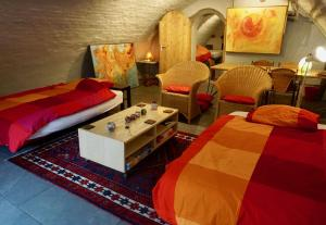 A bed or beds in a room at Apartment Oudegracht 360