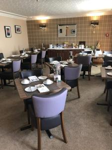 A restaurant or other place to eat at Rosehill Guest House