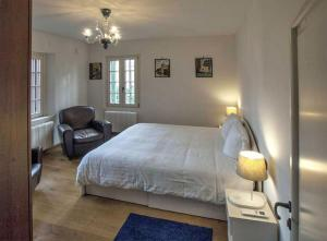 A bed or beds in a room at Villa Contarini B&B