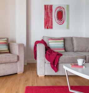 A seating area at SACO Bristol - Broad Quay