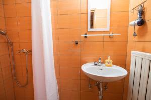Ванная комната в Farm Stay Žagar