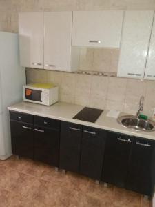 Кухня или мини-кухня в Kvartira na Dovatora