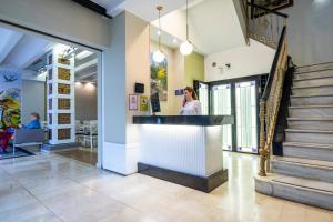 Hall o reception di Atarazanas Málaga Boutique Hotel