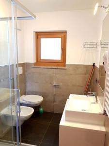 A bathroom at Residence La Zondra