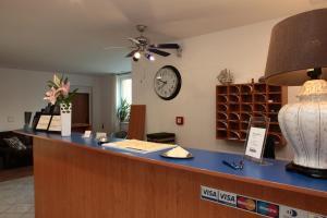 Лобби или стойка регистрации в Hotel Arko