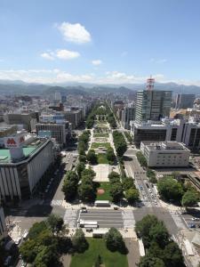 A bird's-eye view of APA Hotel Sapporo Susukino Ekiminami