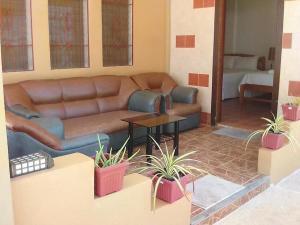 Гостиная зона в panglao moravian apartments