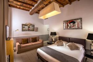 Cama o camas de una habitación en Relais Vatican View