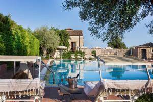 The swimming pool at or near Hotel Villa Favorita