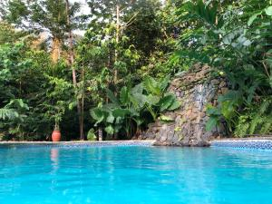 The swimming pool at or near Roça Belo Monte Hotel