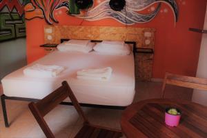 Un ou plusieurs lits dans un hébergement de l'établissement Casa Profunda Hostel