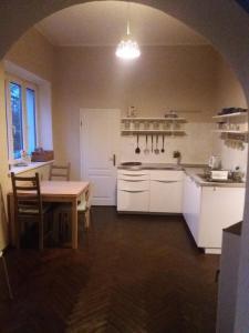 Küche/Küchenzeile in der Unterkunft Guest House U Lamy