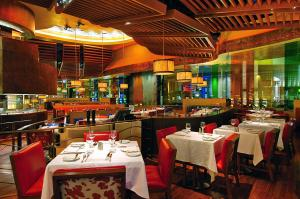A restaurant or other place to eat at Nobu Hotel at Caesars Palace