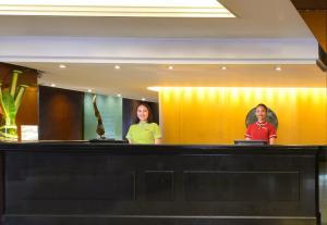 Staff members at Boulevard Hotel Bangkok Sukhumvit