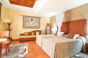 Cama o camas de una habitación en Hotel & Spa Sierra de Cazorla 4*