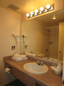 A bathroom at Tropicana Suite Hotel