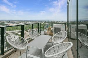 A balcony or terrace at Sanctuary Apartments - Wrap