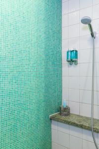 A bathroom at Hotel Rival