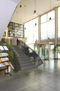 The lobby or reception area at VCH Hotel Greifswald