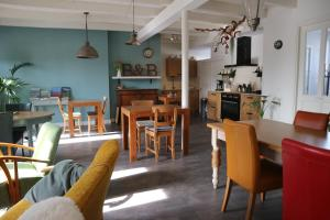 A restaurant or other place to eat at B&B - Pension Het Oude Dorp