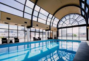 The swimming pool at or near Hotel Grand Chancellor Hobart