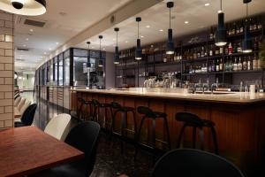 The lounge or bar area at Mustard Hotel Shibuya