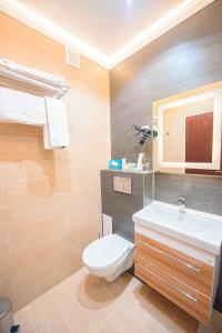 A bathroom at Astana International Hotel