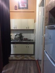 A cozinha ou cozinha compacta de Nizami street 95