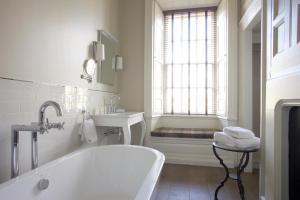 A bathroom at Headlam Hall Hotel