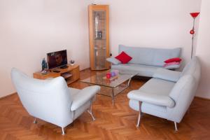 Posezení v ubytování Nadalina Apartment