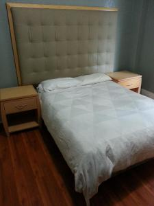 A bed or beds in a room at Winsor Hotel