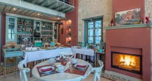 Εστιατόριο ή άλλο μέρος για φαγητό στο Pirrion Wellness Boutique Hotel