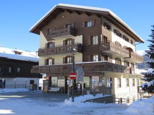 Residence Livigno MyHolidayLivigno v zimě