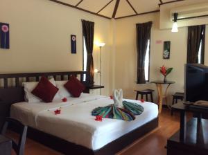 Cama o camas de una habitación en Anyavee Railay Resort