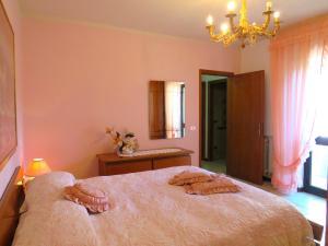 Letto o letti in una camera di Grazia Appartamento Family