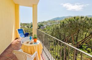 A balcony or terrace at Hotel San Valentino Terme