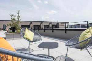 A balcony or terrace at THE FLAG München M.