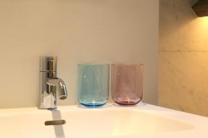A bathroom at Hotel Julien