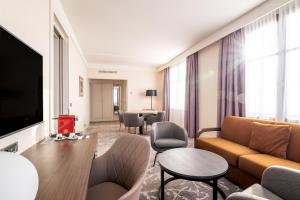 Гостиная зона в Radisson Blu Hotel Paris, Marne-la-Vallée
