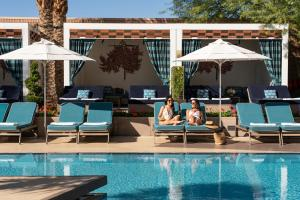 The swimming pool at or near Waldorf Astoria Las Vegas