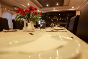 A restaurant or other place to eat at Hotel Phuentsholing