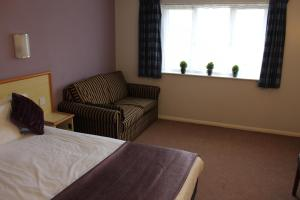 A seating area at Redwings Lodge Baldock
