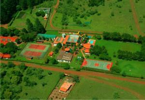 Uma vista aérea de Hotel Berro D´Agua