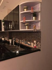 مطبخ أو مطبخ صغير في شقة المهندسين (للعائلات فقط)
