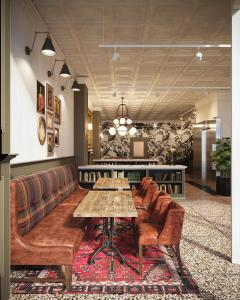 A seating area at The Armstrong Hotel