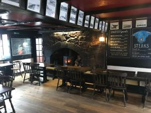 The lounge or bar area at Crown and Anchor Inn