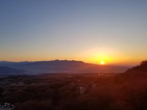 傳統日式旅館或附近地點的日出和日落景觀