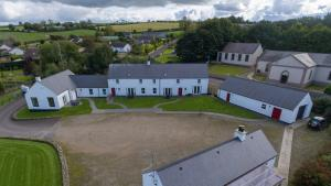 A bird's-eye view of Foyle Cottage