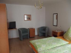 A seating area at Hotel Haus Irsfeld